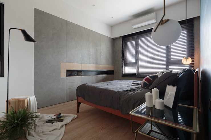 Bedroom by Moooi Design 驀翊設計, Scandinavian