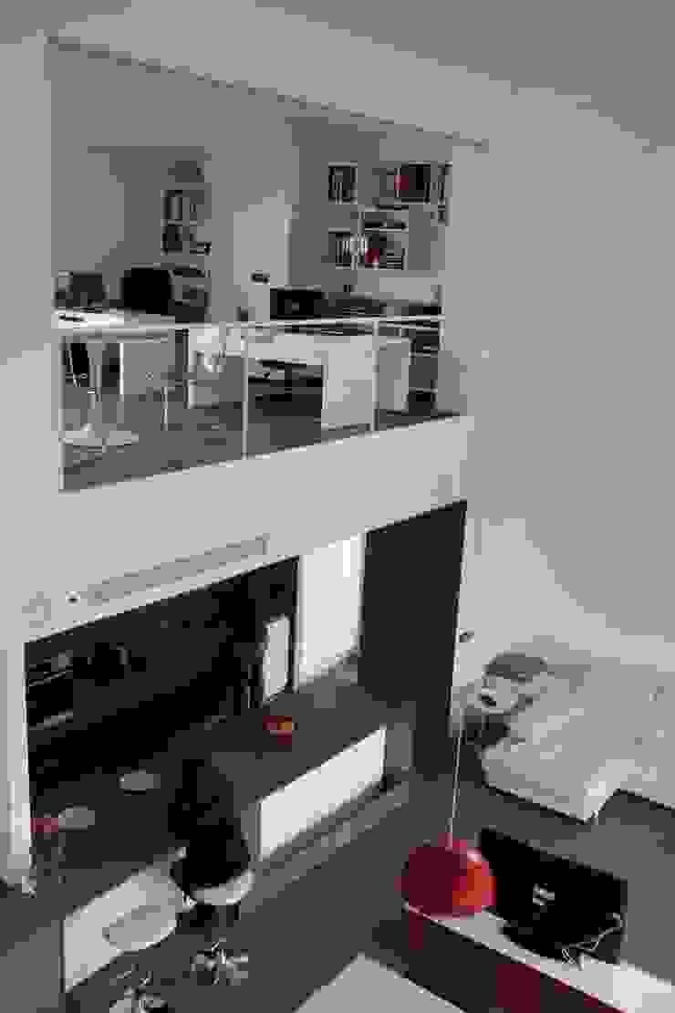 Estudio1403, COOP.V. Arquitectos en Valencia Soggiorno moderno