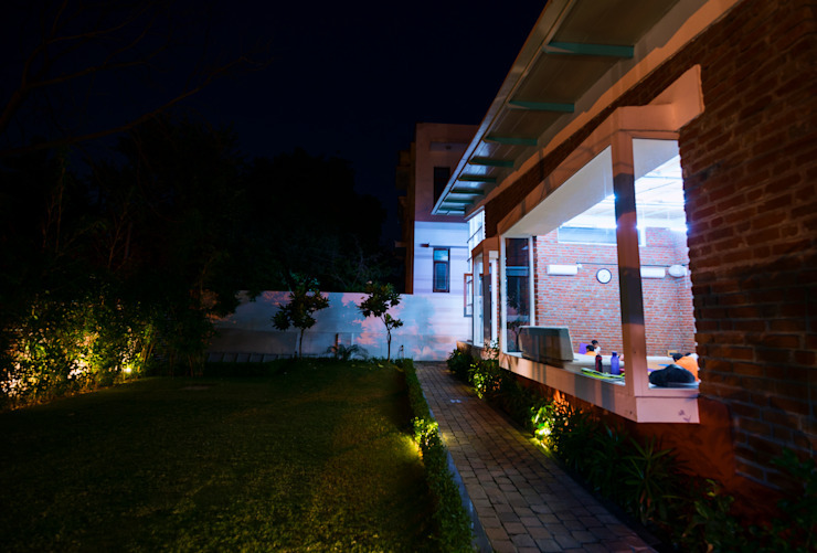 Jaipur- Architecture and interior dessign of School or shala for yoga and meditation flamingo architects