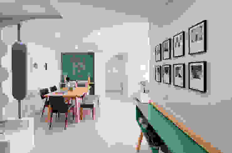 4 Bhk interior designing project at jaipur by Flamingo Architects flamingo architects