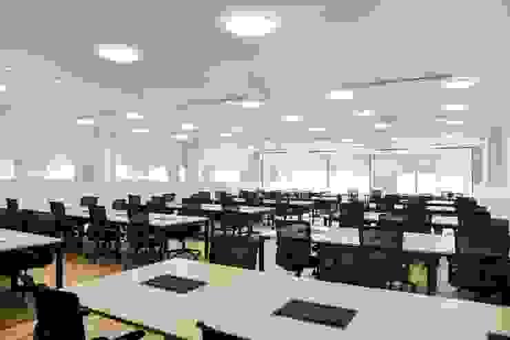 Estudios y despachos de estilo minimalista de Parámetro Arquitectura & Ingeniería Minimalista
