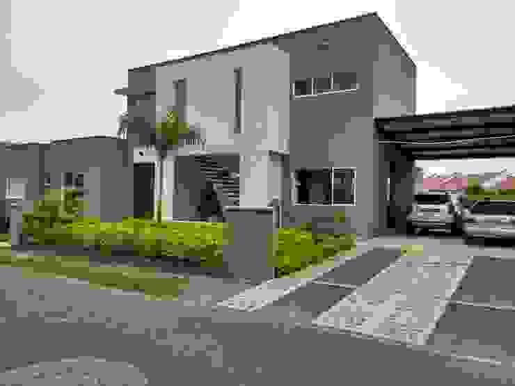 Casa unifamiliar en Jamundí de Parámetro Arquitectura & Ingeniería Moderno