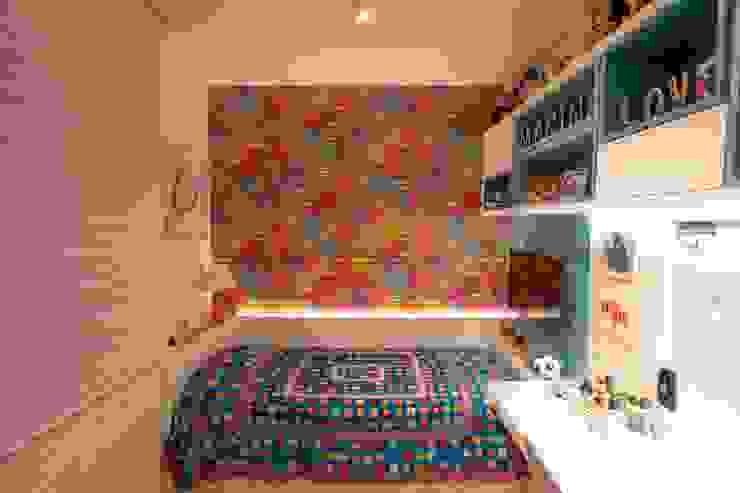 Bloco Z Arquitetura ห้องนอนเด็กหญิง แผ่น MDF Multicolored