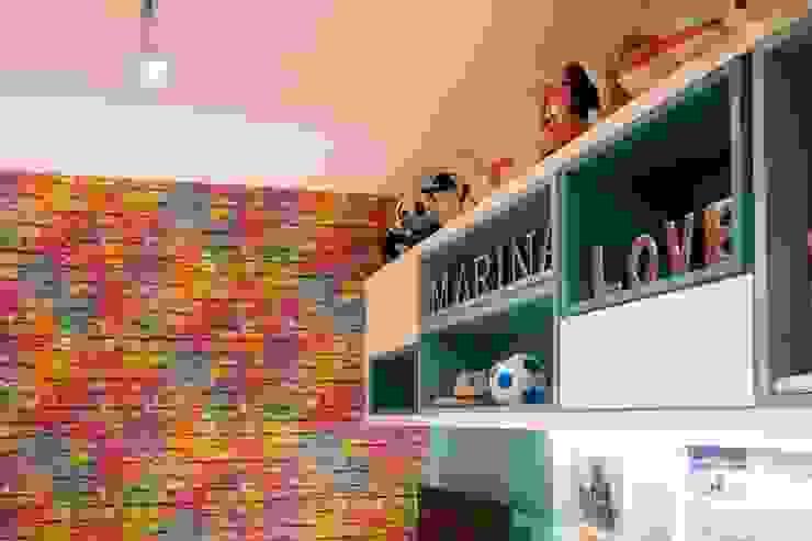 Bloco Z Arquitetura ห้องนอนเด็ก แผ่น MDF Multicolored