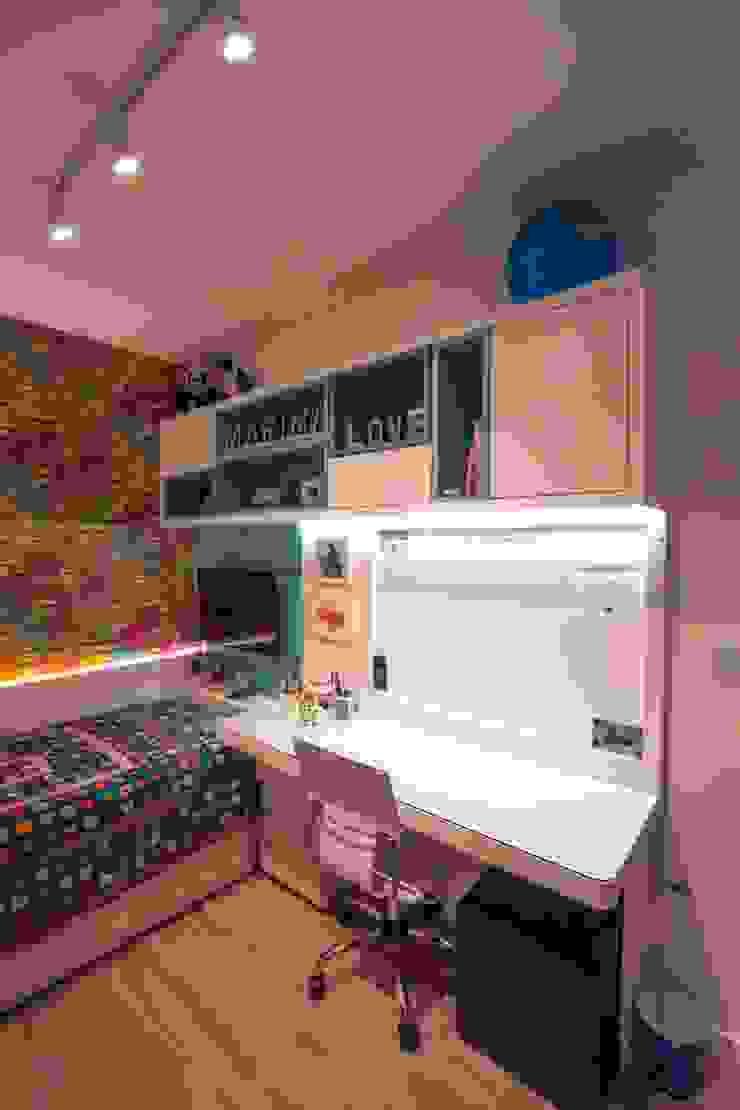 Bloco Z Arquitetura Спальня для дівчаток MDF Різнокольорові