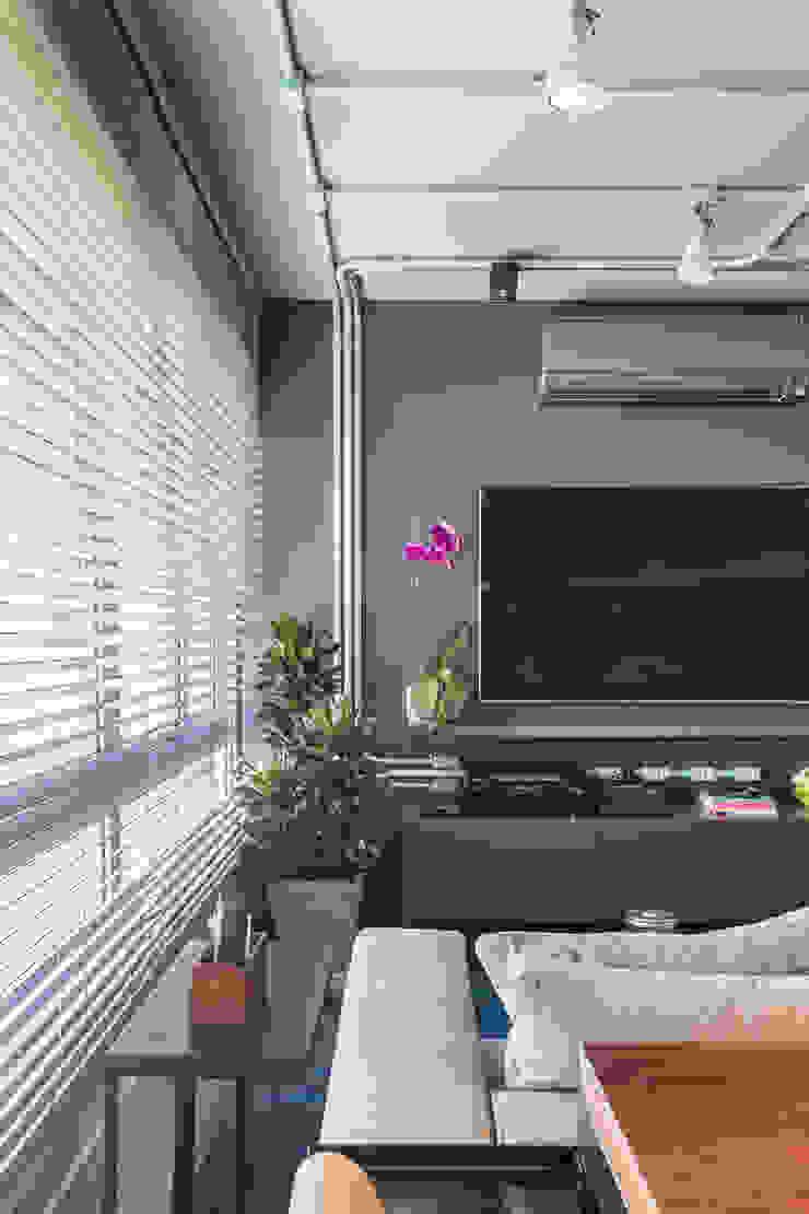 Bloco Z Arquitetura Ruang Keluarga Modern