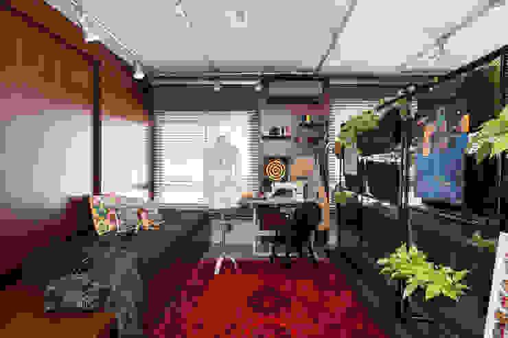 Bloco Z Arquitetura Ruang Studi/Kantor Modern