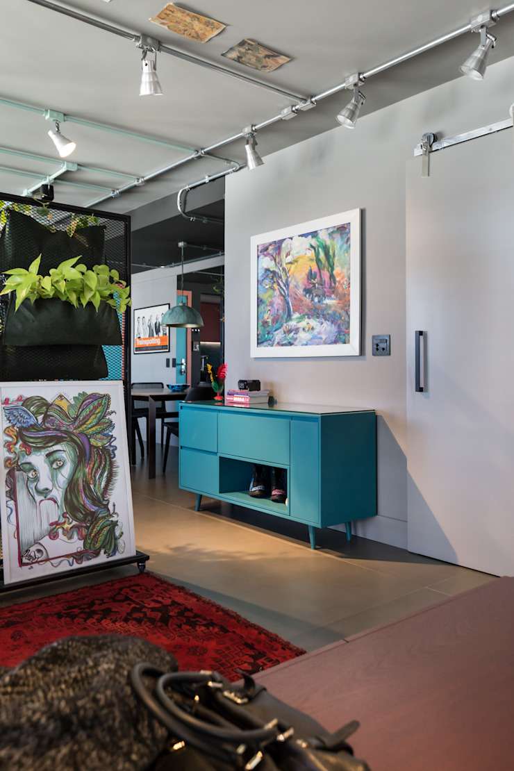Bloco Z Arquitetura Koridor & Tangga Modern