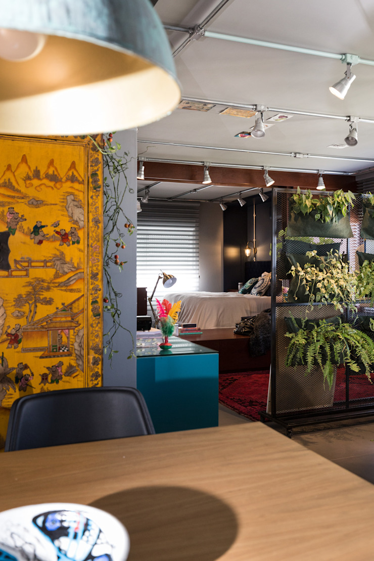 Bloco Z Arquitetura Ruang Makan Modern
