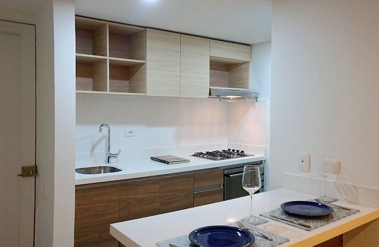 TikTAK ARQUITECTOS Kitchen units