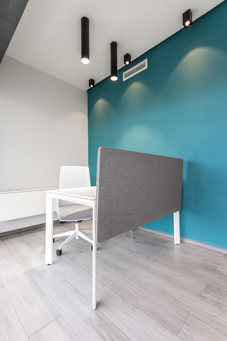 OFICINA S Design Group Latinamerica Oficinas de estilo moderno