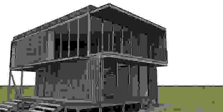 TALLER OFICINA Casas estilo moderno: ideas, arquitectura e imágenes de COMPONENTE Moderno