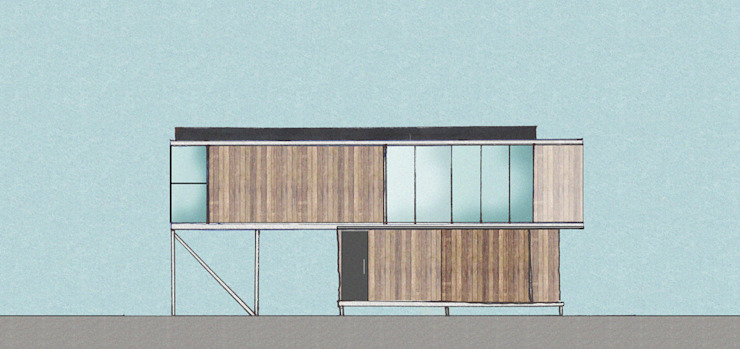 TALLER OFICINA Casas de estilo minimalista de COMPONENTE Minimalista