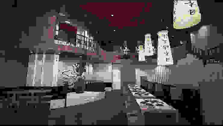Área de comidas GA Experimental Gastronomía de estilo asiático