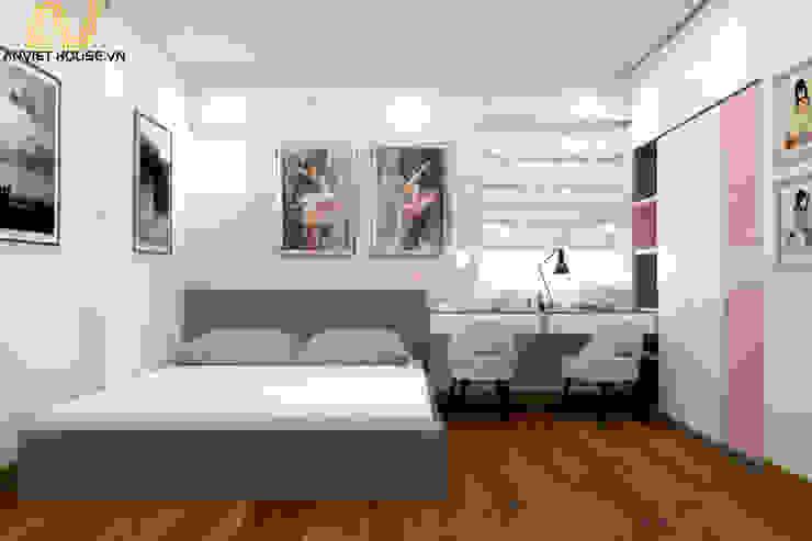 Thiết kế nội thất căn hộ 3 phòng ngủ – Mipec, Kiến Hưng bởi An Viet Trading and Interior Service Joint Stock Company