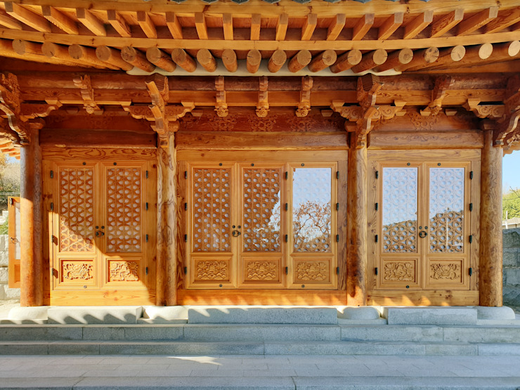합천 이씨 종가 복원 신축공사 - 사당채 아시아스타일 주택 by 성종합건축사사무소 한옥