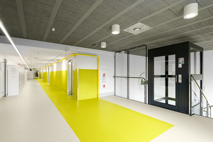 PORT pracownia i studio architektury Schools Yellow