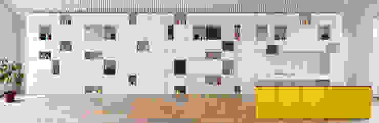 Minimalist living room by Franz&Sue Minimalist Wood Wood effect
