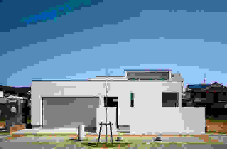 設計事務所アーキプレイス Maison individuelle Béton Blanc