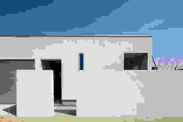 設計事務所アーキプレイス Maisons minimalistes Blanc