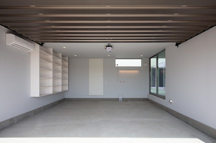 設計事務所アーキプレイス Garage / Hangar minimalistes