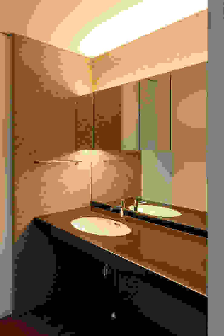 設計事務所アーキプレイス Salle de bainTextiles & accessoires Lin Ambre/Or