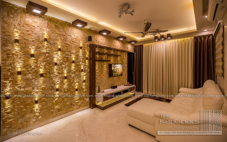 Living room designs Modern living room by The KariGhars Modern
