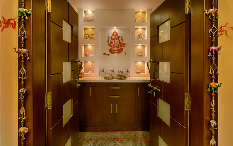 10 Innovative Puja Room Designs That Are On Trend Homify Homify