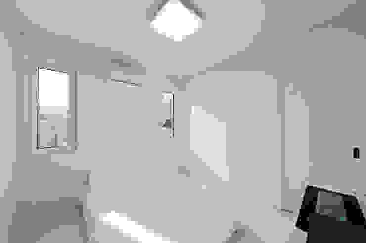양평 문호리 단층주택 모던스타일 침실 by 바른주택 모던