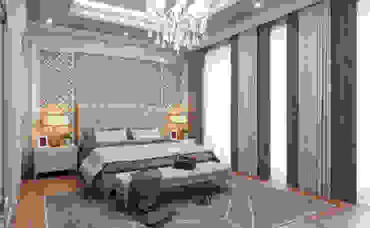 Ebeveyn Yatak Odası / Bilgah Villa Sia Moore Archıtecture Interıor Desıgn Küçük Yatak Odası Masif Ahşap Yeşil