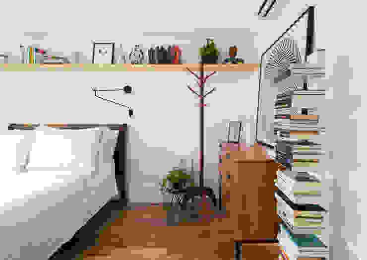 Спальня в стиле минимализм от INÁ Arquitetura Минимализм