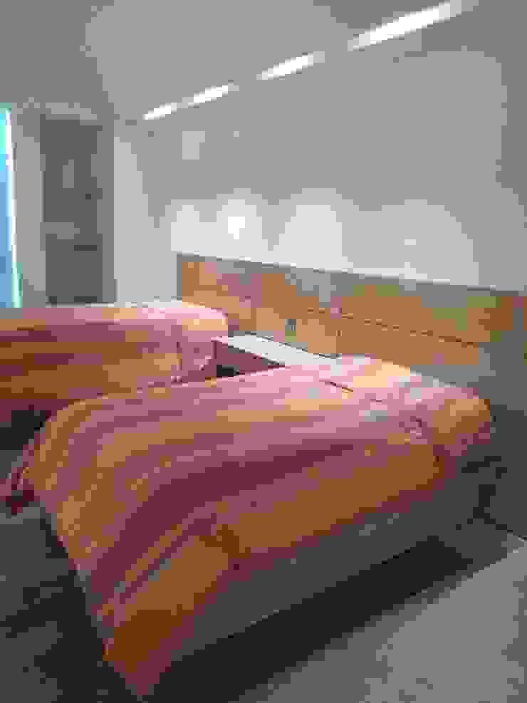 Remodelaciòn de interiores en depto ZH de SG Huerta Arquitecto Cancun Moderno