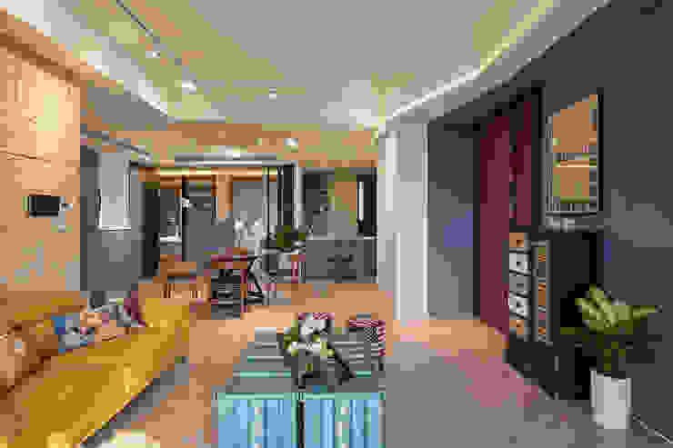 金玉情環 Modern Living Room by 趙玲室內設計 Modern