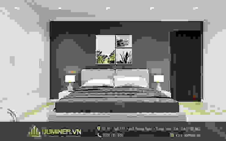 Phòng ngủ con gái lớn bởi Thiết kế - Nội thất - Dominer