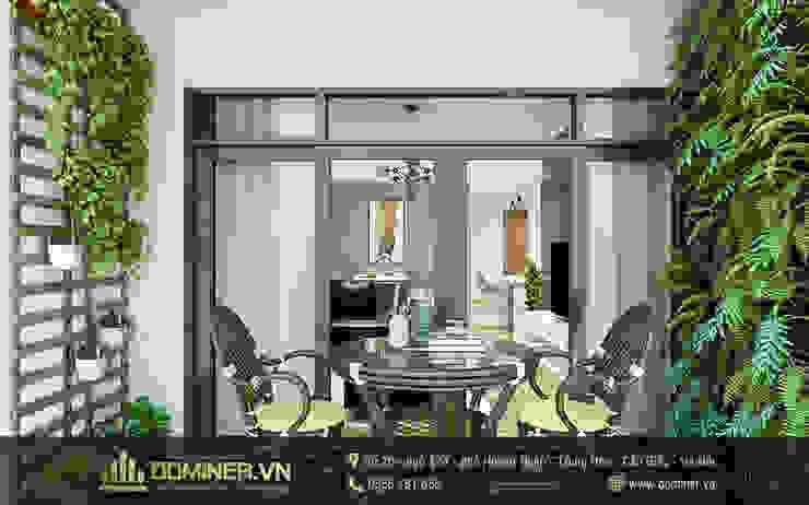Ban công bởi Thiết kế - Nội thất - Dominer
