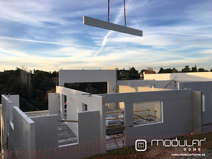 Montaje de viviendas modulares MODULAR HOME Casas prefabricadas