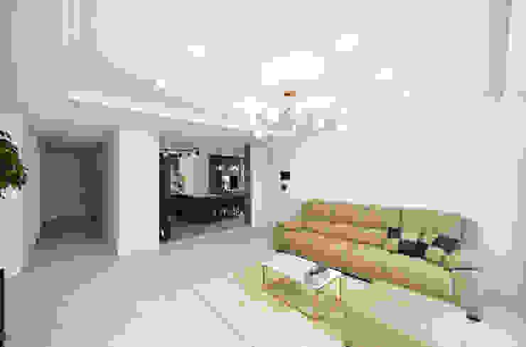 누보인테리어디자인 Livings de estilo moderno