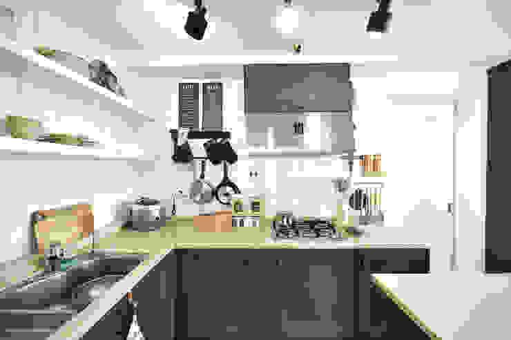 누보인테리어디자인 Cocinas de estilo moderno