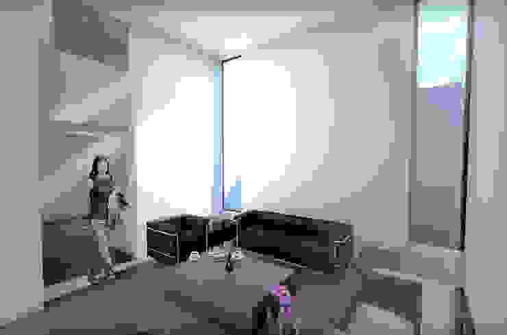Mediterranean style living room by RAS Arquitectos Mediterranean