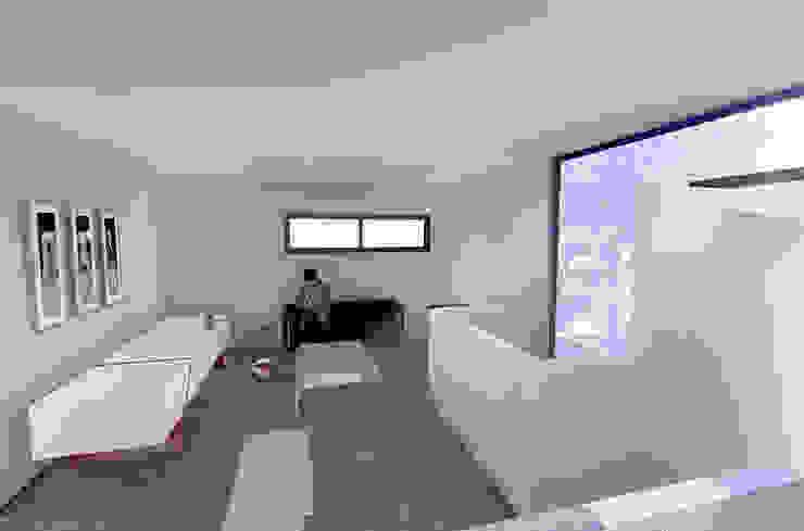 Mediterranean style study/office by RAS Arquitectos Mediterranean