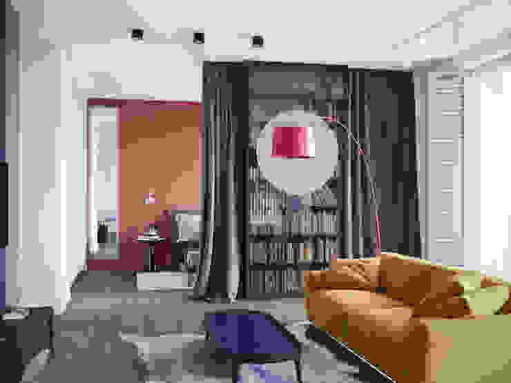 Salones modernos de Дизайнер Фёдор Иванов Moderno