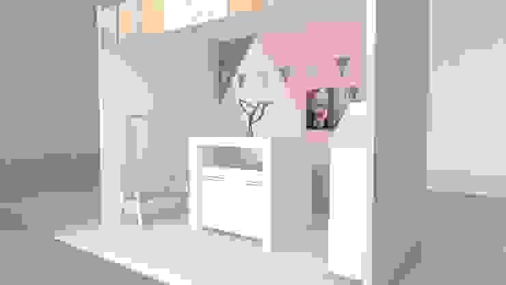 Ruang Studi/Kantor Minimalis Oleh Kaizen diseño interior Minimalis MDF