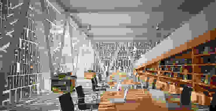 AXIOS . interiores Estudios y despachos modernos de Protoforma Moderno
