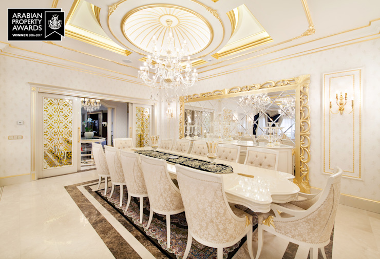 Yemek Odası - 1 / Özel Villa Klasik Yemek Odası Sia Moore Archıtecture Interıor Desıgn Klasik Ahşap Ahşap rengi