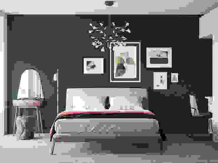 Scandinavian style bedroom by Дизайнер Фёдор Иванов Scandinavian
