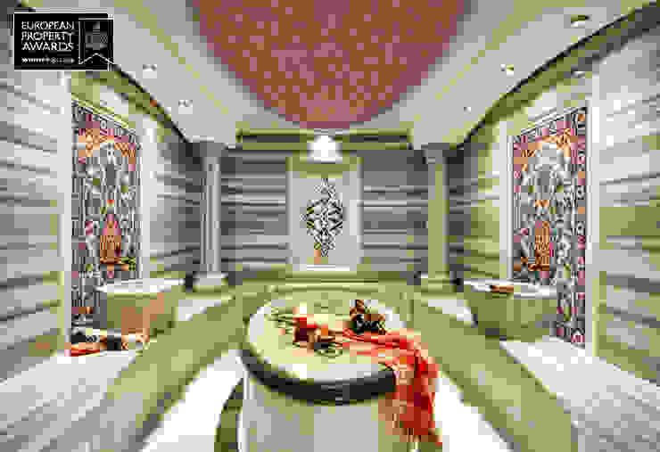 Turkish Bath / Bosphorus City Villa by Sia Moore Archıtecture Interıor Desıgn Classic Marble