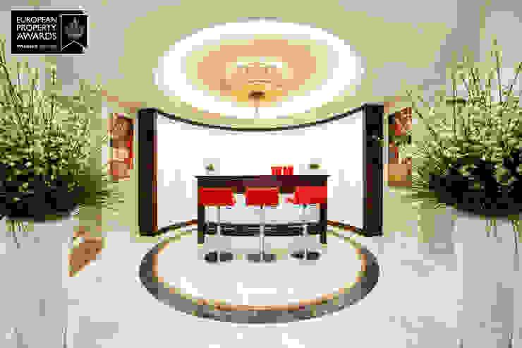 Bar Area / Bosphorus City Villa Classic style wine cellar by Sia Moore Archıtecture Interıor Desıgn Classic Marble