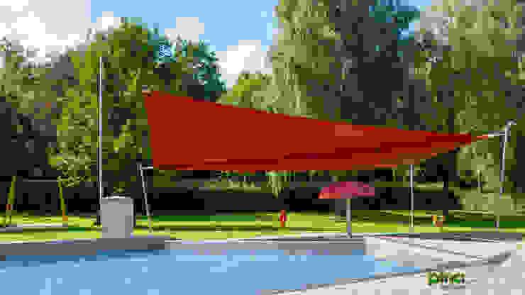 Pina GmbH - Sonnensegel Design Modern Garden Red