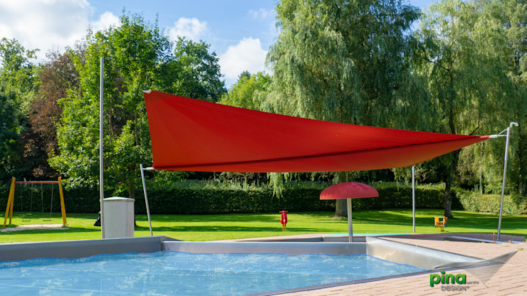 Pina GmbH - Sonnensegel Design Taman Modern Red