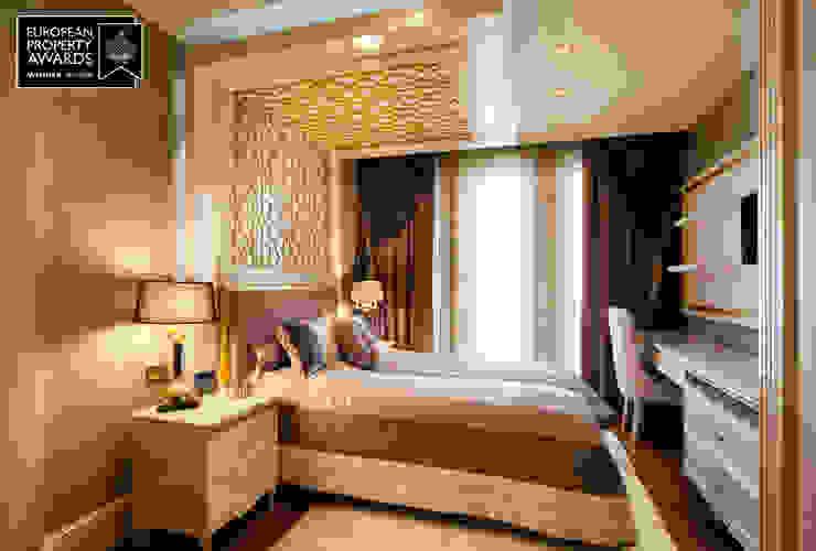 Guest Bedroom - 1 / Bosphorus City Villa by Sia Moore Archıtecture Interıor Desıgn Classic Wood Wood effect